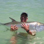 Ann Maria island has the best tarpon fishing in the world
